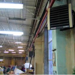 Отопление производственных помещений